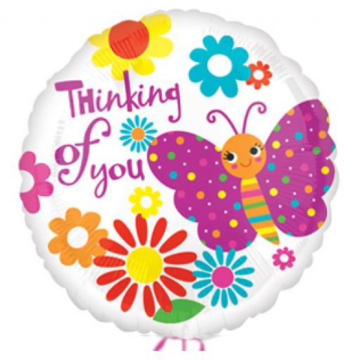 """Thinking Of You Foil Balloon 18"""""""