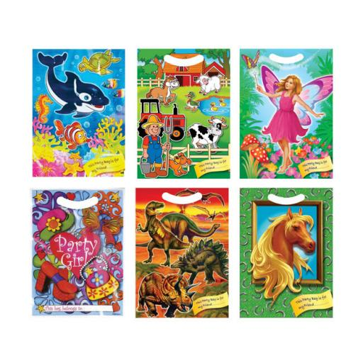 Party Bags Fairy Dinosaur Sealife Horse/Pony Farmyard Party Girl