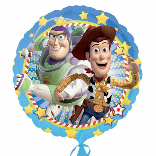 """17"""" Toy Story Woody & Buzz Standard Foil Balloons"""
