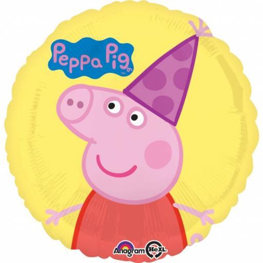 "Peppa Pig Foil Balloons 18"""