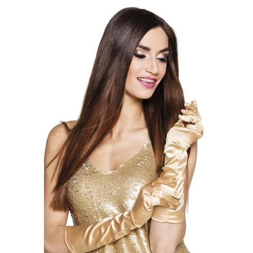 Boland monte Carlo elbow gloves ladies gold