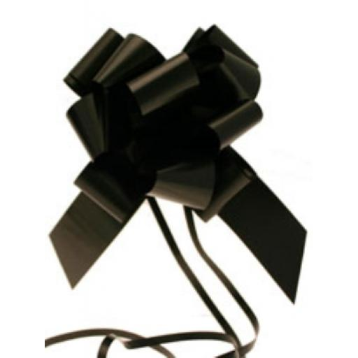 20 Black Pull Bow(50mm)