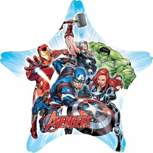 """29 x 29"""" Avengers Jumbo Foil Balloons"""