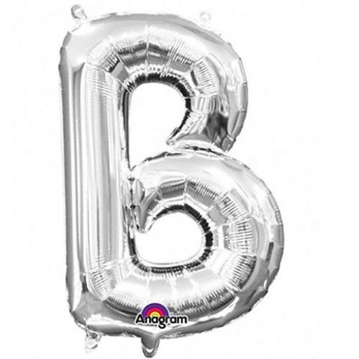 "Mini Air Filled Foil Balloon Letter ""B"""