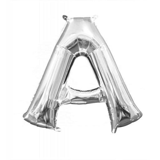 "Mini Air Filled Foil Balloon Letter ""A"""