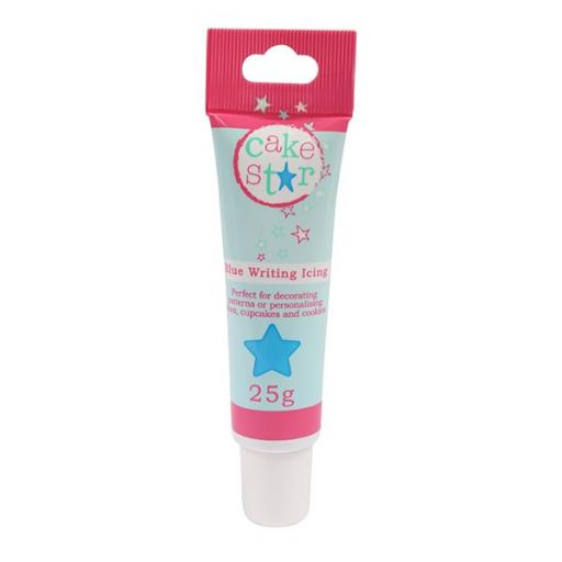 Cake Star Writing Icing - Blue