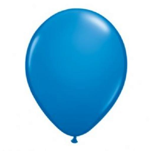 5 inch Royal Blue Latex Balloons 100pk