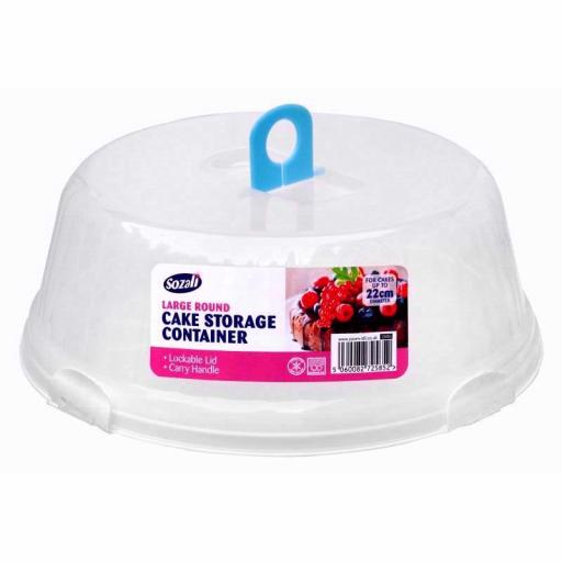 "Sozalli 10"" Round Cake Carry Box"