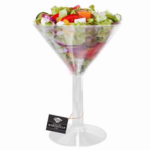 Serving Martini Clear Plastic Cup 1litre