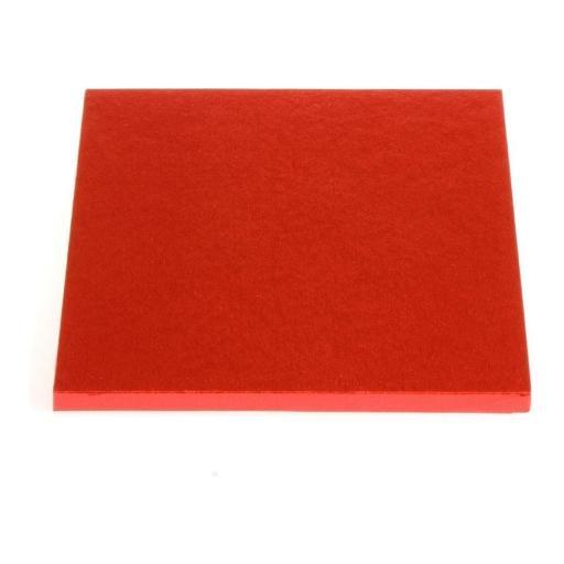 """Red Square Cake Drum 8"""""""