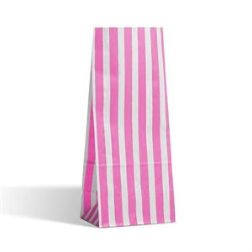 Pink Stripe Pick N Mix Bags 30pk