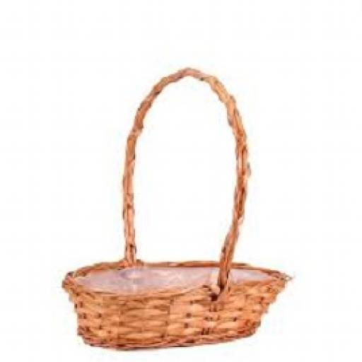 Punt Basket with handle (41cm)