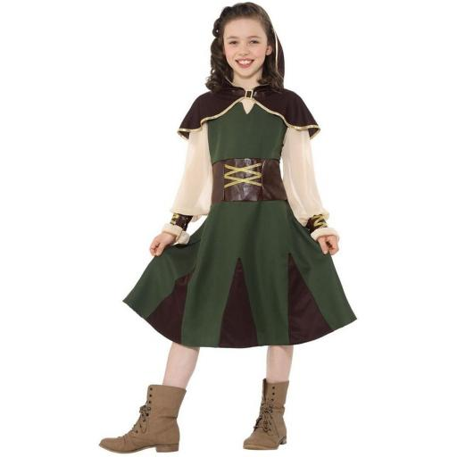 Robin Hood Girl Costume M
