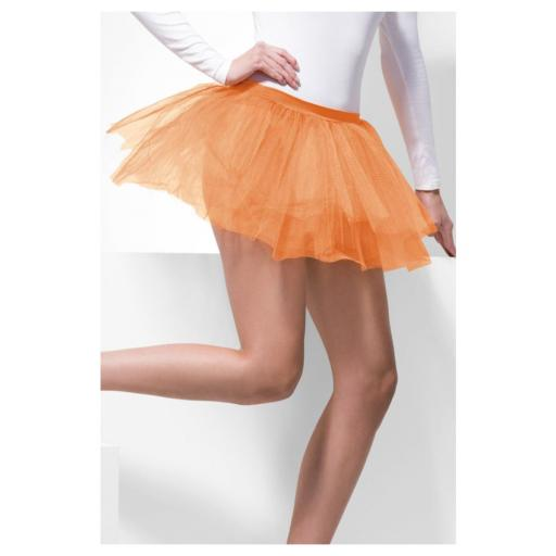 Neon Orange Tutu Underskirt