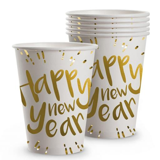 Boland New Year Cups 25 cl 6 Pieces