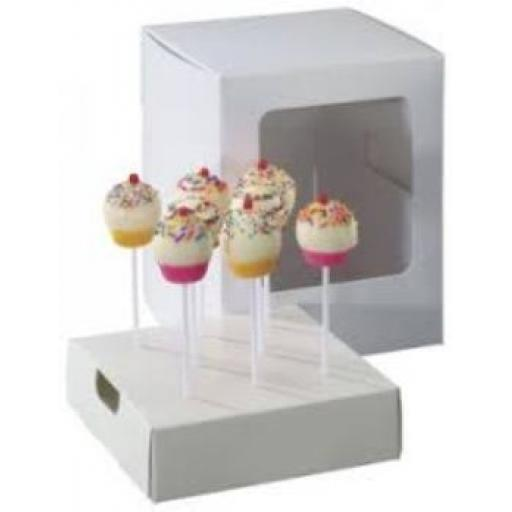 Cake Pop Presentation Box