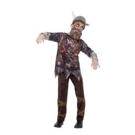 Deluxe Zombie Viking Costume Size L