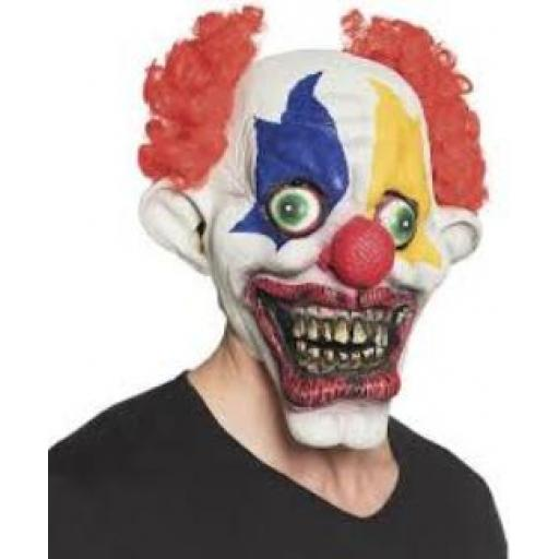 Boland Halloween Clown Latex Mask