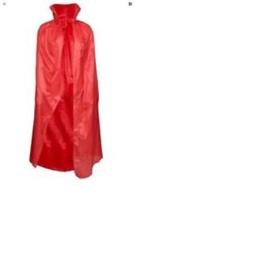 Kids Red Halloween Cape 34 inch