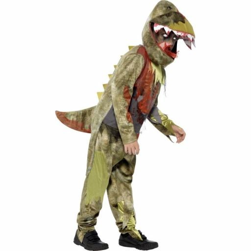 Deathly Dinosaur Costume Size L