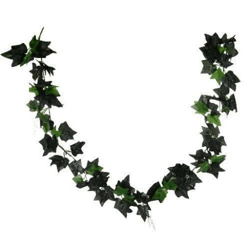180cm Artificial Green Ivy Garland with 92 large Leaves