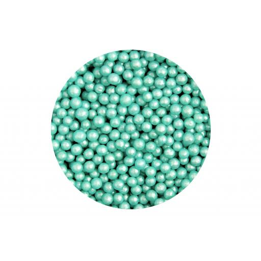 Hundreds & Thousands Glimmer Turquoise 80g/4mm
