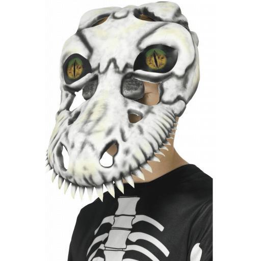 Kids Smiffys T-Rex Skull Mask