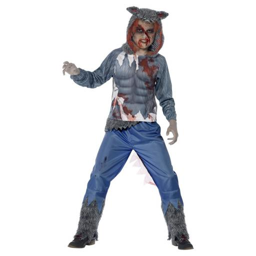 Deluxe Wolf Warrior Costume Size T