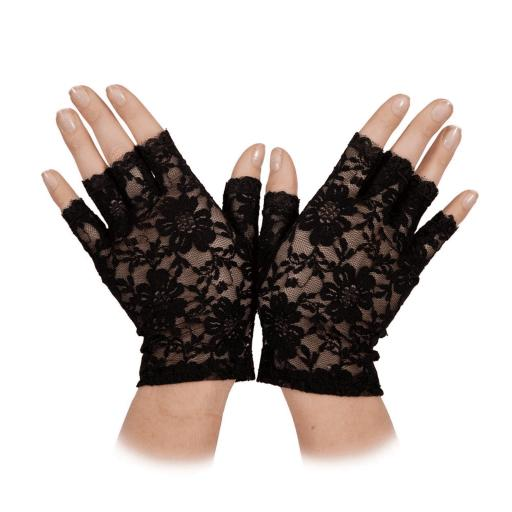 Ladies Short Lace Gloves