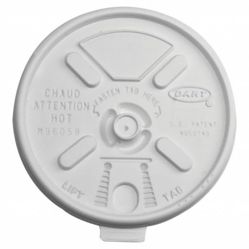 Straw Slot Lids To Fit 14 /16 /20 oz Thermal Cups 100 Pk