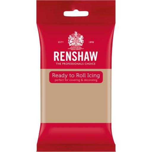 Renshaw Latte Ready to Roll Sugarpaste 250g