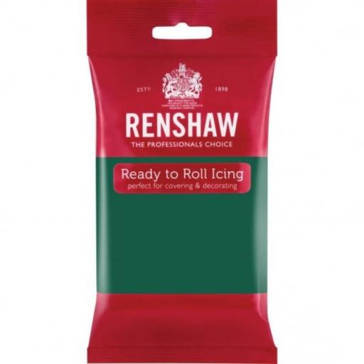Renshaw Emerald Green Ready to Roll Sugarpaste 250g