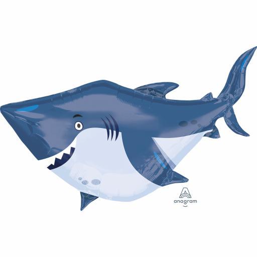 """Ocean Buddies Shark Super Shape Foil Balloons 24"""""""