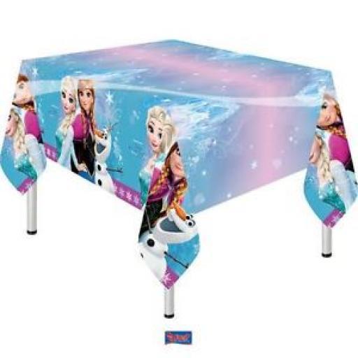 Disney Frozen Plastic Tablecover - 1.2m x 1.8m