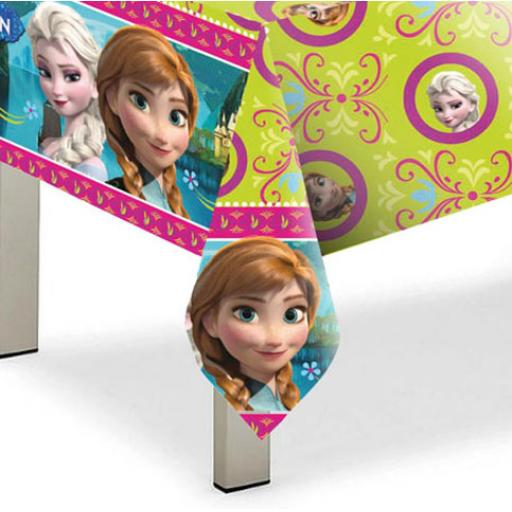 Disney Frozen Plastic Table Cover - 1.2m x 1.8m