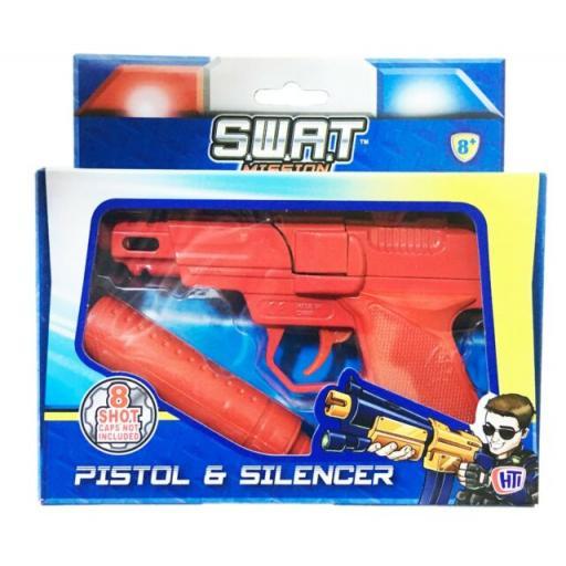 Pistol & Silencer