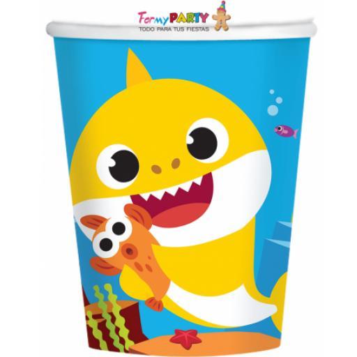 Baby Shark Paper Cups 8pk