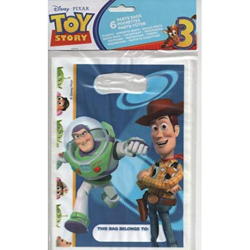 Toy Story Party Bags 6pk