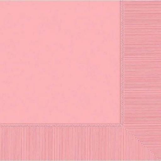 New Pink Napkins 50pk
