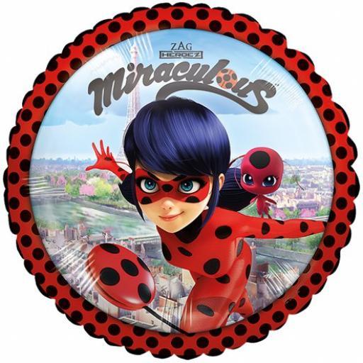 "Miraculous Ladybug Balloon - 18"" Foil"