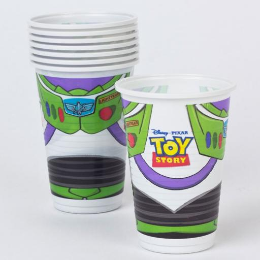 Toy Story Plastic Cups 8pk