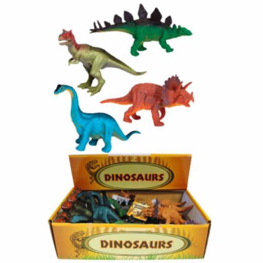 Assorted Plastic Dinosaurs