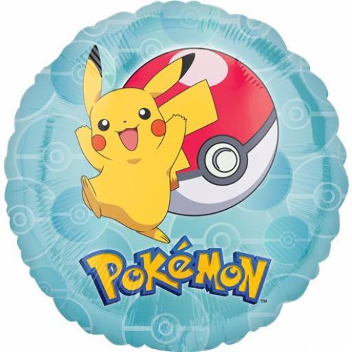 Pokemon Foil Balloon 17in