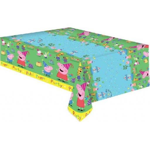 Peppa Pig Table Cover 120cmx180cm