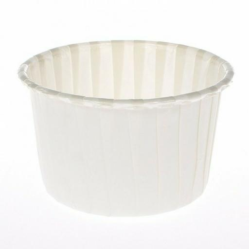 24 Ivory Coloured Baking Cups