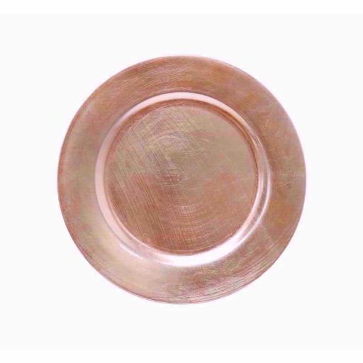 CHARGER PLATE ROSE GOLD