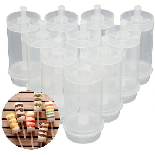 Push Pop Container for Cake 10 pk