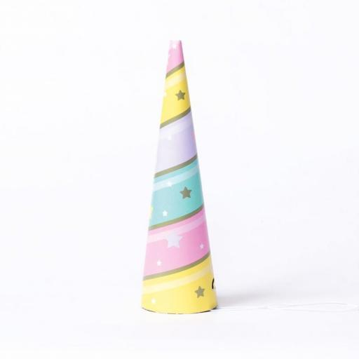 Unicorn Party Hats 8pk