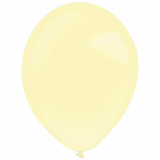 Macaroon Vanilla Latex Balloons 20 x 12''