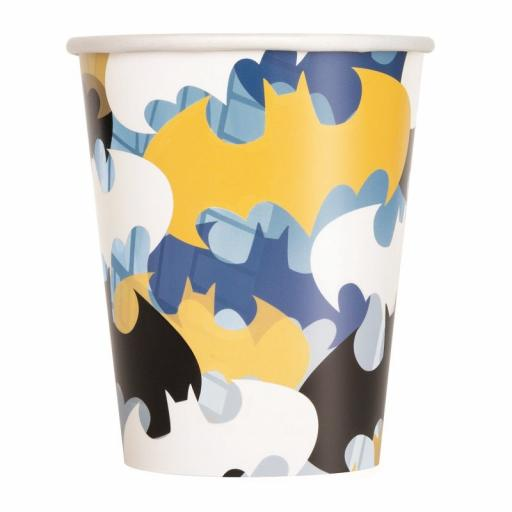 Batman Paper Cups 8pk